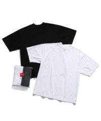 【Hanes for BIOTOP】MOCK NECK PAC T-shirts(2pcs)