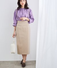 【CARREMAN / キャリーマン】【2WAY】ポンチタイトスカート