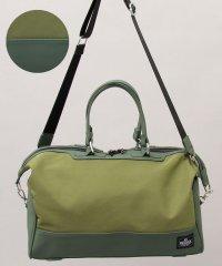 【REGiSTA/レジスタ】マットポリウレタン×PVCナイロンボストンバッグ/旅行バッグ