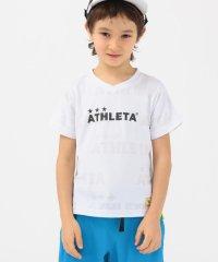 ATHLETA:【SHIPS KIDS別注】<吸汗速乾>ジャカード ロゴ Tシャツ(100~130cm)