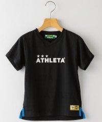 ATHLETA:【SHIPS KIDS別注】<吸汗速乾>ジャカード ロゴ Tシャツ(145~160cm)