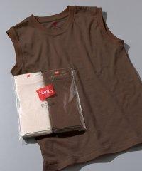 【Hanes for BIOTOP】Sleeveless T-Shirts(カラー)