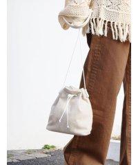 リネン混巾着BAG