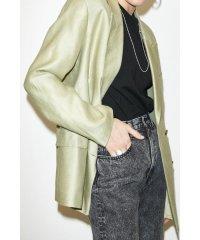 LINEN BOXY DOUBLE TAILORED ジャケット
