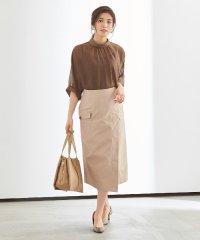 ポケットラップタイトスカート