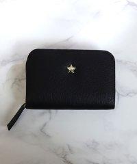 【本革】【2way】【3種展開】スタッズスクエア小さい財布