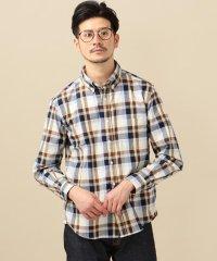 SC: ペルヴィアン ピマ オックスフォード チェック ボタンダウンシャツ