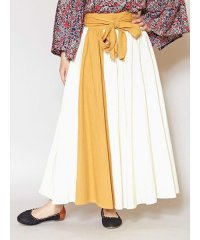 【チャイハネ】カラーラインスカート IAC-0169