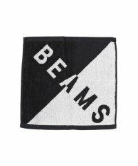 BEAMS / バイアス ビッグロゴ ハンドタオル
