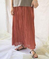 【ITEMS】プリーツイージーロングスカート