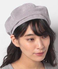 【E hyphen world gallery】コーデュロイベレー帽