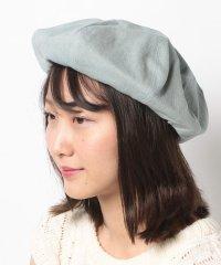 【earth music&ecology】デニムベレー帽