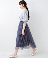 着るだけでルンとした気分になる! 長ーーい季節着られてずっと使えるオトナのためのチュールスカート