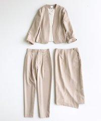 いざというとき困らないための 大人のフォーマルジャケット・パンツ・スカート3点セット by que made me