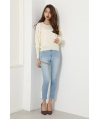 Ripped denim J/W skinny PT