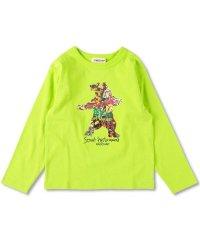 ベアグラフィック長袖Tシャツ(90~130cm)