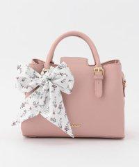 花柄スカーフベルトバッグ