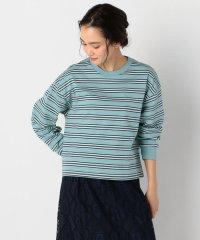 【sportswear/スポーツウェア】surf borderロングスリーブTシャツ