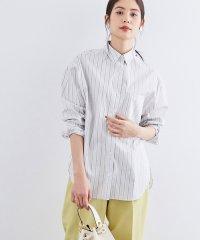 【洗える】ハイパワーブロードオーバーストライプシャツ