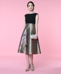 《M Maglie le cassetto》アマリリスジャガードドッキングドレス