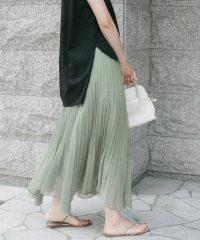 【予約】KBF+ シアープリーツスカート