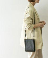 SMIR NASLI Gem.×UR 別注LeatherRectangleBag