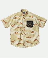 《予約》【GREGORY FOR MAGIC NUMBER 】SS カモフラ ボタンダウンシャツ