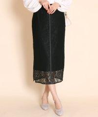 GRANDTABLE(グランターブル)フラワーレースタイトスカート