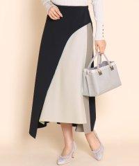 GRANDTABLE(グランターブル)配色ラウンドスカート