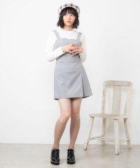 【セットアップ対応商品】ベイクドカラーミニスカート