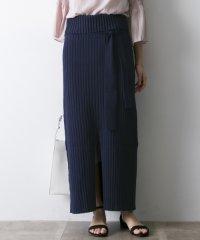 【UR】リブニットマキシスカート