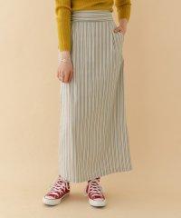 【ITEMS】ドビーストライプタイトスカート
