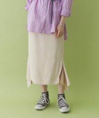 【ITEMS】スリットデザインスカート