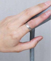 ラフサーフェイスリング / 指輪 リング メンズ シンプル カップル ペア