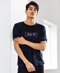 AKM Contemporary(エイケイエムコンテンポラリー)ラフステッチパイルTシャツ