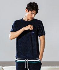 AKM Contemporary(エイケイエムコンテンポラリー)MIX刺繍パイルTシャツ