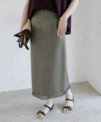 【WEB/一部店舗限定】サマーツイードフリンジスカート