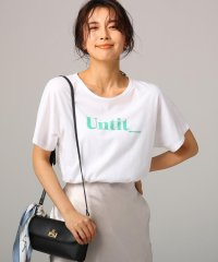【洗える】コットン天竺ロゴTシャツ