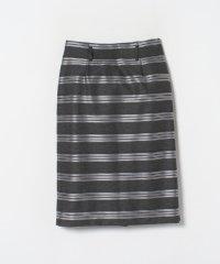 ラチネボーダータイトスカート