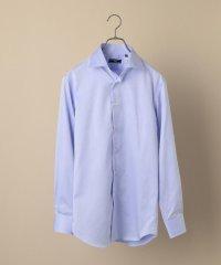 SD: イージーアイロン ツイル ワイド ソリッドシャツ