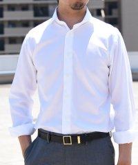 SD: イージーアイロン ツイル ホリゾンタル シャツ