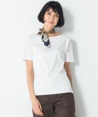 【洗える】DOUBLE SMOOTH ボートネック Tシャツ