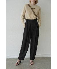 LINEN J/W LOOSE SLACKS PANTS
