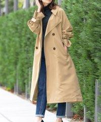 レディース アウター キャンディスリーブ オーバーサイズ トレンチコート スプリングコート