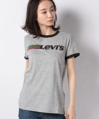 【WOMEN】PERFECT RINGER TEE RUNNING LEVI'S SMOKES