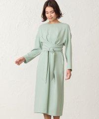 パールコンパクトクロス ツイストドレス