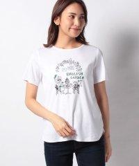 ガールモチーフTシャツ・ティータイム
