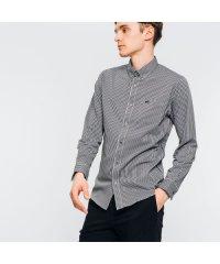 COOLMAX(R)ストライプボタンダウンシャツ