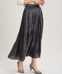 《大きいサイズ》ロングプリーツスカート