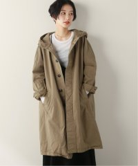 【HTS】 COTTON HOODED COAT(LENGTH110cm):コート